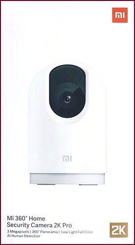 Xiaomi Mi | Home Security Überwachungskamera 360° 2K Pro - Weiß