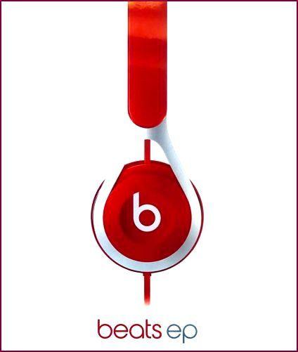 Beats EP On-Ear-Kopfhörer mit Mikrofon und Geräuschisolierung - Rot
