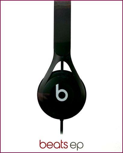 Beats EP On-Ear-Kopfhörer mit Mikrofon und Geräuschisolierung - Schwarz