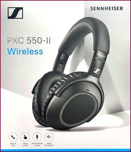Sennheiser PXC 550-II Wireless Bluetooth-Kopfhörer - Schwarz
