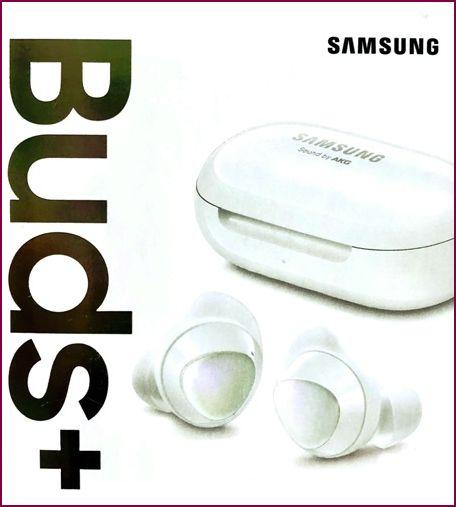 Samsung Galaxy Buds+ In-ear True-Wireless Bluetooth Kopfhörer - Weiß