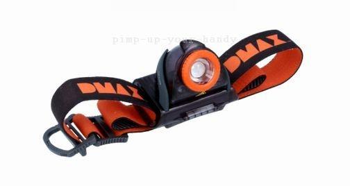 Zweibrüder Ledlenser LED Stirnlampe Buddy DX batteriebetrieben - Schwarz/Orange