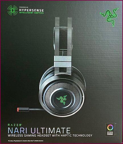 Razer Nari Ultimate Gaming Headset - Schwarz