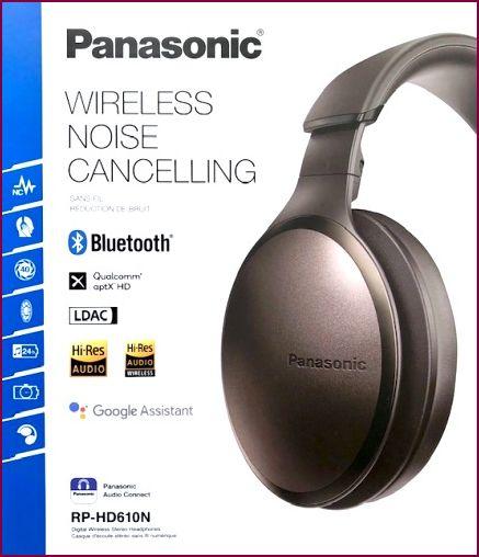 Panasonic RP-HD610NE-T, Over-Ear Bluetooth Kopfhörer - Braun
