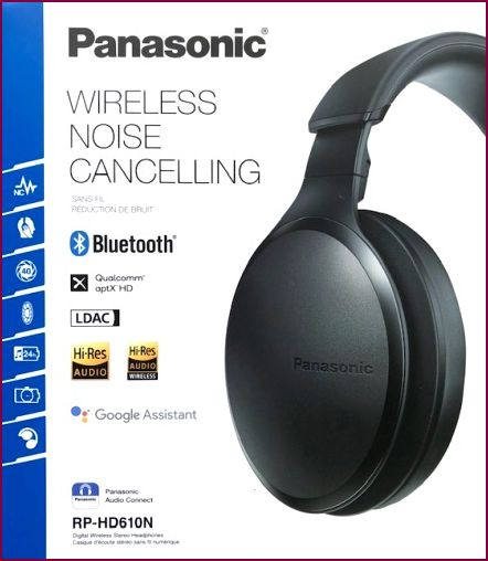 Panasonic RP-HD610NE-K, Over-Ear Bluetooth Kopfhörer - Schwarz
