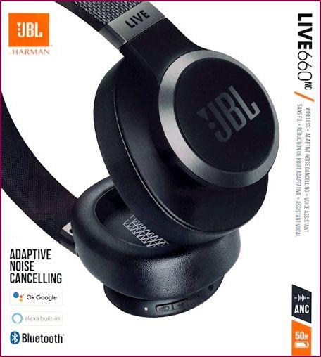 JBL LIVE 660NC - Over-Ear Bluetooth Kopfhörer - Schwarz
