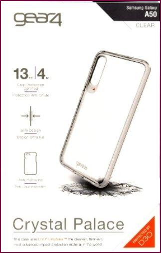 Gear4 D3O Crystal Palace für Samsung Galaxy A50 - Clear